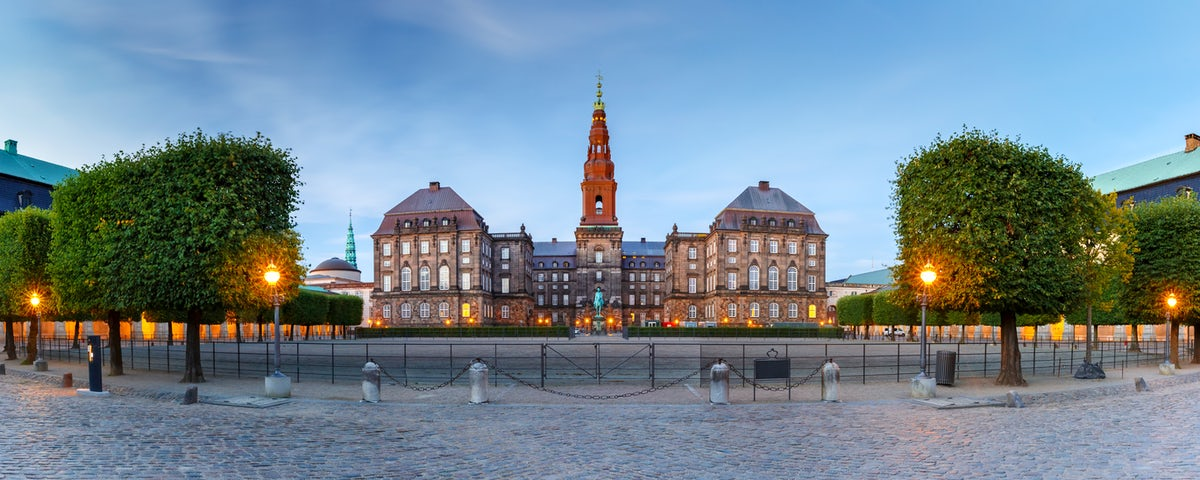 The Christiansborg Palace -aka Borgen