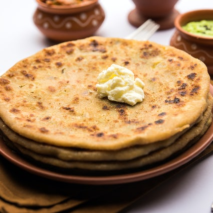 Aloo parantha, an ode to Delhi's food