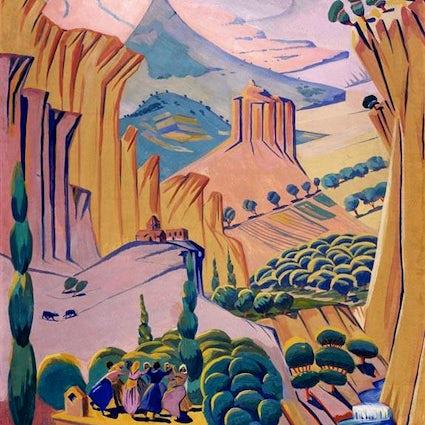 A great artist of Armenia - Martiros Saryan