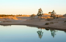 Finding dunes in Finland in the city of Pori