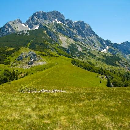 Die Eroberung des höchsten Gipfels Bosniens - Mt. Maglić