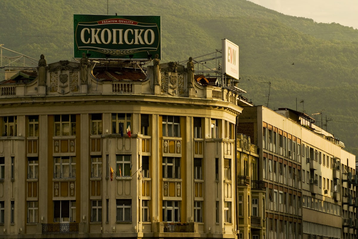What you will miss from Macedonia: Skopsko!