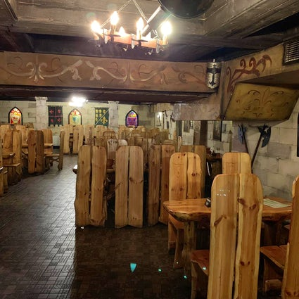 Medieval dining in Bucharest's Excalibur restaurant