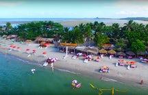 Coroa do Avião, een klein eilandje in de noordelijke kuststrook van Pernambuco.