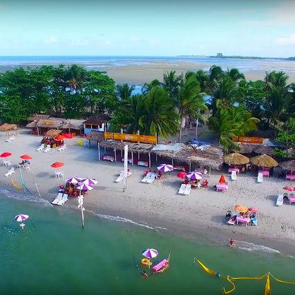 Coroa do Avião, una pequeña isla en el litoral norte de Pernambuco