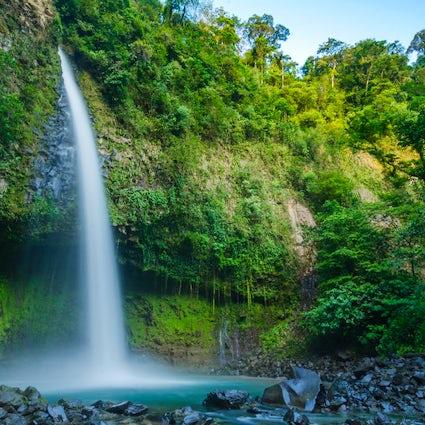 A Top Ecotourism Hotspot in Costa Rica:  La Fortuna Waterfall