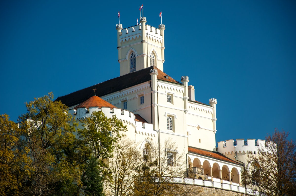 Play the 19th-century piano in the Trakošćan Castle