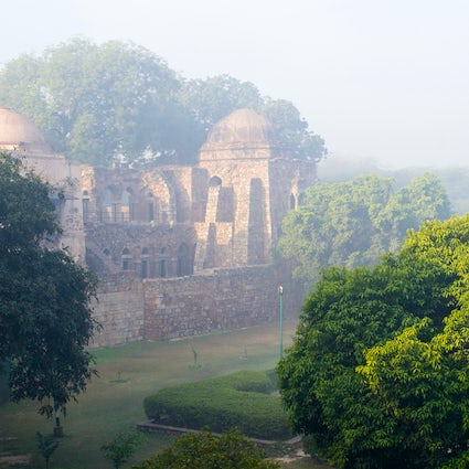 Hauz Khas Village, a serene retreat in Delhi