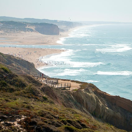 Foz do Arelho: a hike in the seaside cliffs