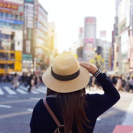 Solo reizen in Tokio