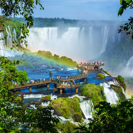 The Iguaçu National Park and the great falls