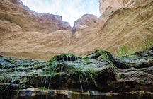 Rejuvenating drops of the Tamshaly Spring in West Kazakhstan
