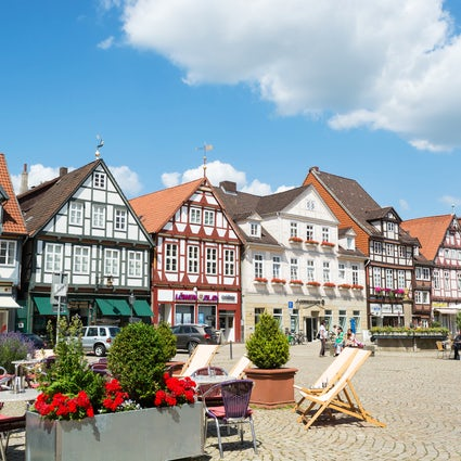 City of timbered houses - Celle