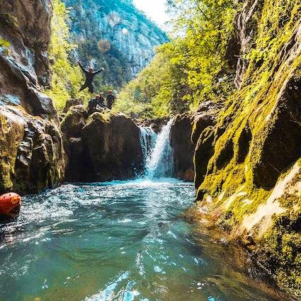 Canyoning Hrčavka, de laatste veroverde kloof van Europa