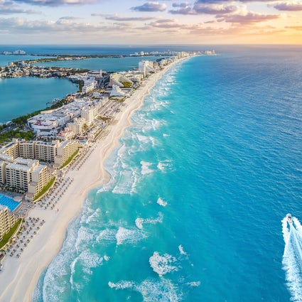 Übernachtungsmöglichkeiten an der Maya-Riviera: Cancun, Playa del Carmen und Tulum.