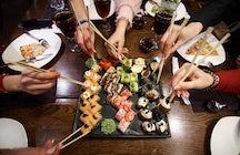 Dónde comer sushi en Bruselas - Restaurante Makisu