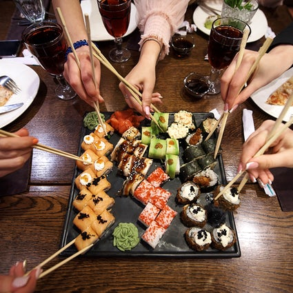 Where to eat sushi in Brussels - Makisu restaurant