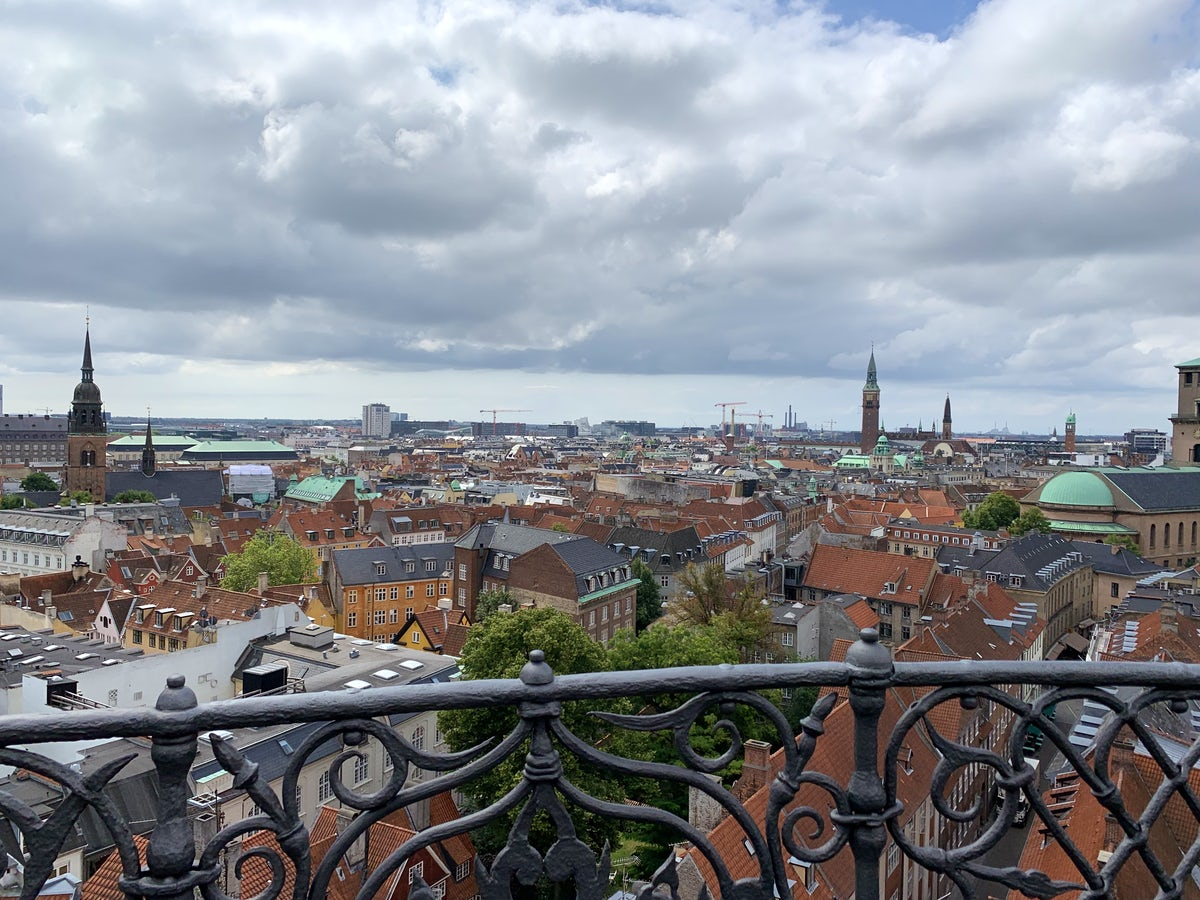 Discover Copenhagen's stunning view from the Round Tower