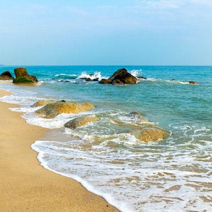 Songkhla: eine ruhige Strandstadt in Südthailand.