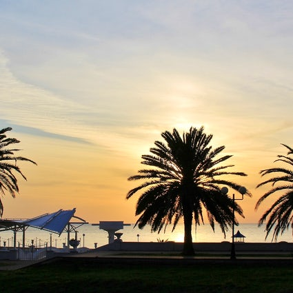 Sotschi, ein tropischer Ferienort am Schwarzen Meer