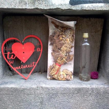 Belgarde-Geschichten: eine Liebesmauer in der Hilandarska Straße