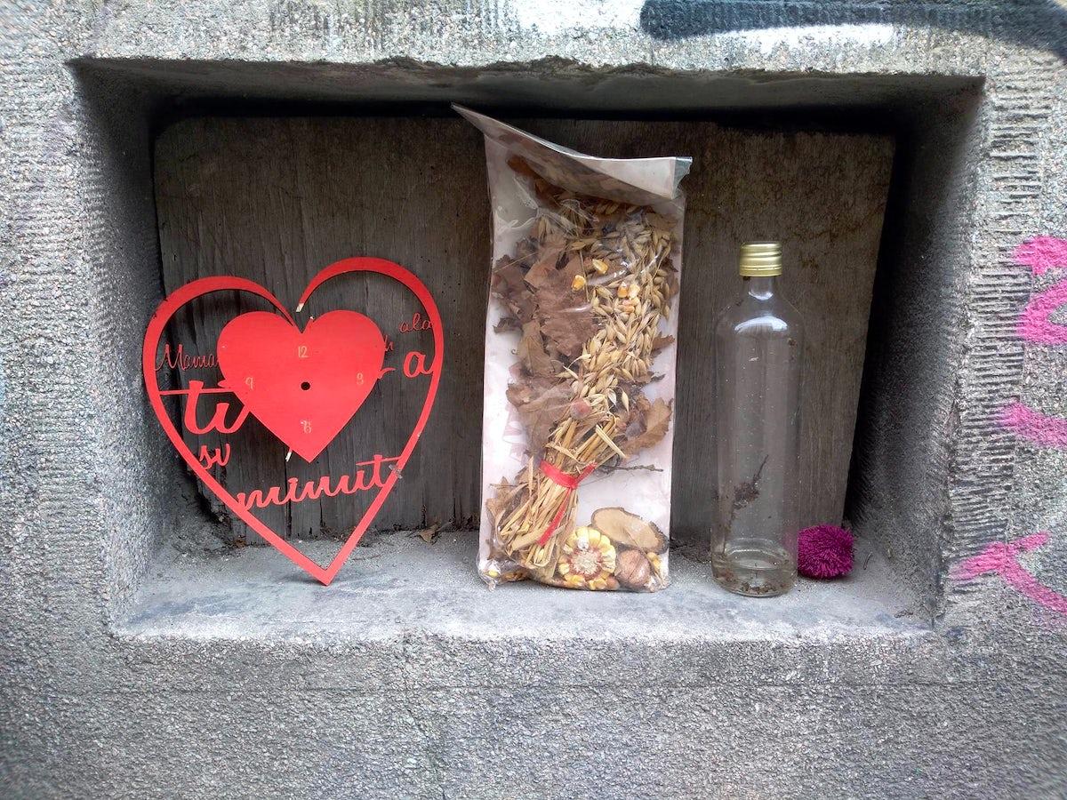 Belgrade tales: A love wall in Hilandarska street