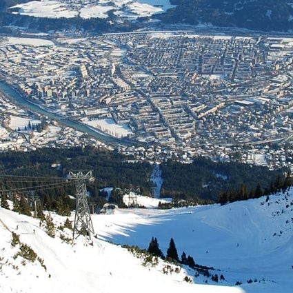 Innsbruck - Skiing in the Heart of the City
