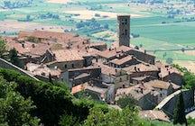 Op de wijnpaden van Italië:  Cortona