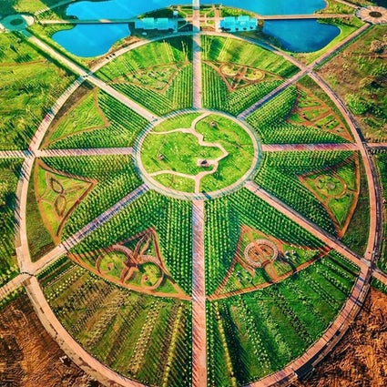 Greenery in Kazakhstan: the Botanical garden of Nur-Sultan
