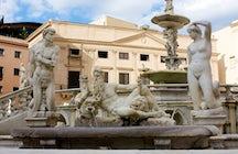 Piazzas in Italy: Piazza Pretoria, Palermo