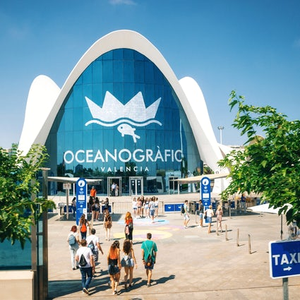 The largest aquarium in Europe - Valencia