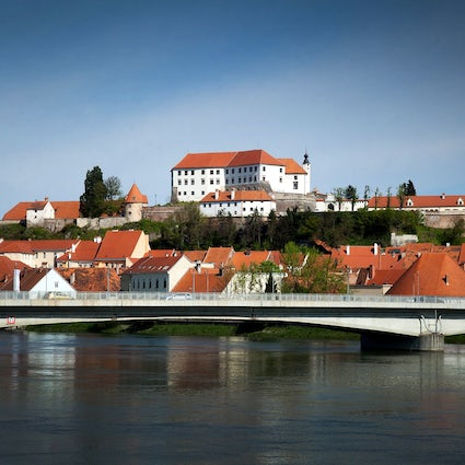The glorious Ptuj Castle in Slovenia's oldest town