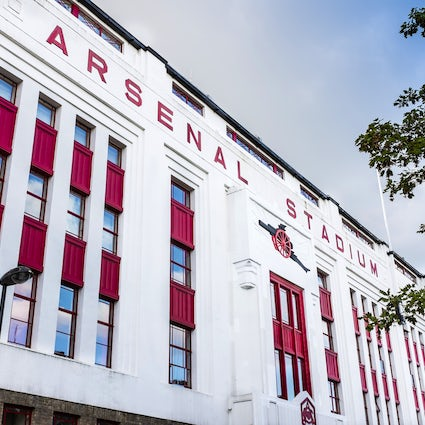 Highbury Square – The remains of a stadium