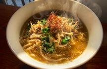 A unique ramen experience - Ramen Matatavi, Onomichi