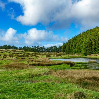 Rutas de senderismo por las Azores: Mistérios Negros