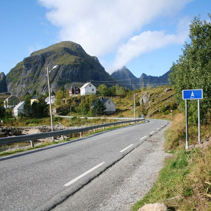 Å - World's shortest place name