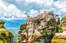 Meteora; el Monasterio suspendido en el aire