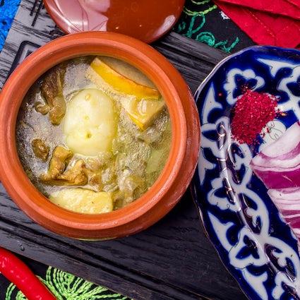 The most popular dish of Azerbaijan - Piti
