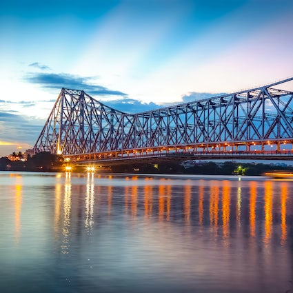 Behold Kolkata's iconic Howrah Bridge in all its glory