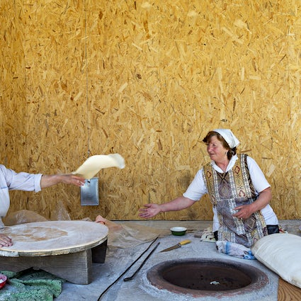 Armenian Lavash: The longest bread you've ever seen