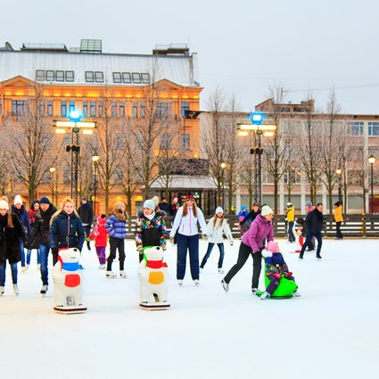 Winter ice skating in Chisinau - Top three ice rinks