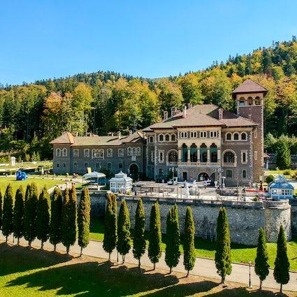 Professez votre amour au château de Cantacuzino, à Bușteni