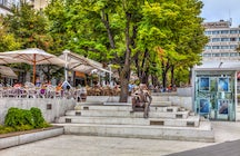 Cvetni Trg, flower square of Belgrade