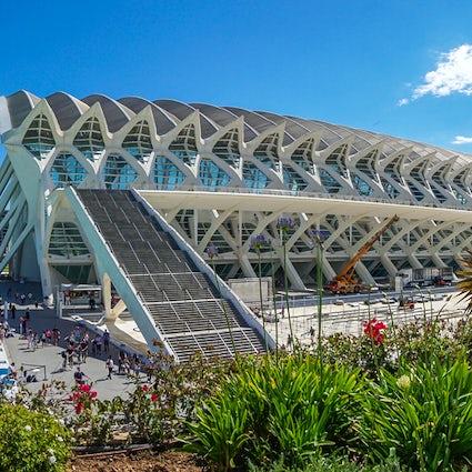 Party places in Valencia - city centre architecture