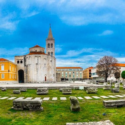 Explore the Roman side of Zadar
