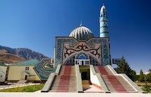Perspectivas de un patrimonio cultural diverso: 4 mezquitas de Kirguistán