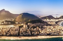 Arpoador Stone- the division spot between Copacabana and Ipanema