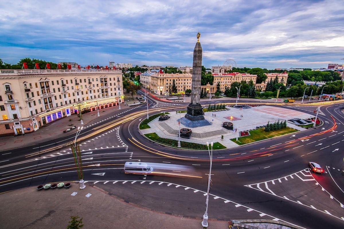 The Obelisk in Minsk: a symbol of victory