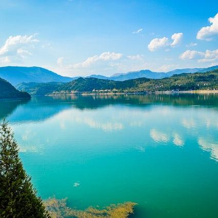 Los mayores lagos artificiales de Bosnia y Herzegovina