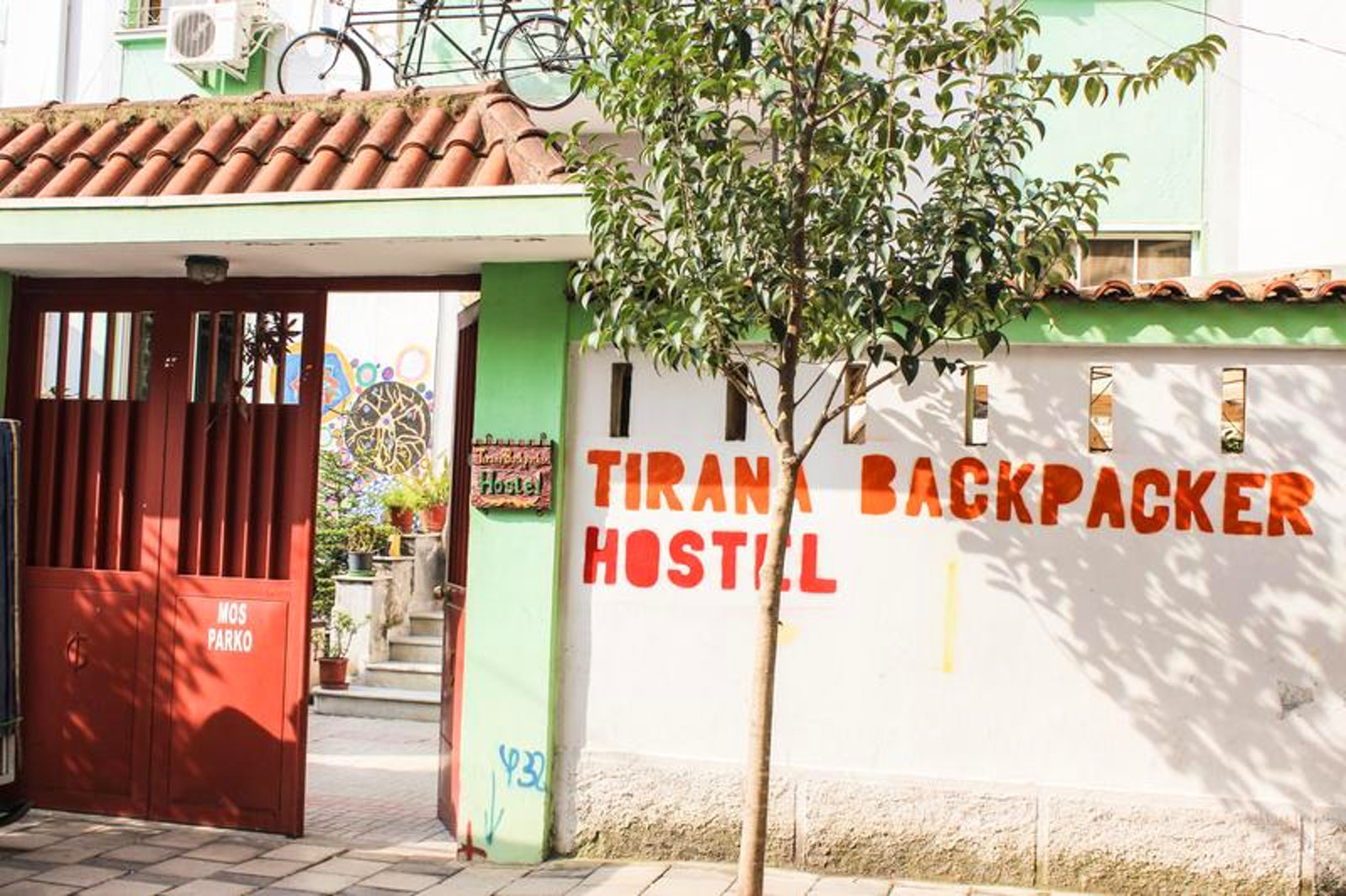 Cover picture © Credits to Tirana Backpacker hostel